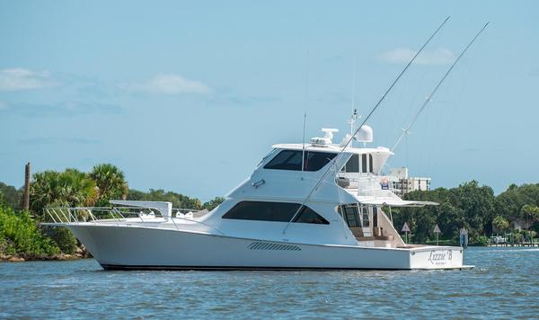 Used Viking 61 Enclosed Bridge Convertible Fishing Boat For Sale