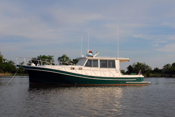 Used Magna Craft Downeast Fishing Boat For Sale