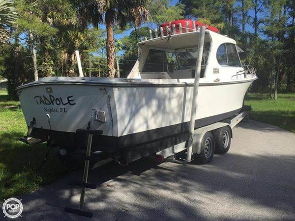 Used Shamrock 260 PH Pilothouse Boat For Sale