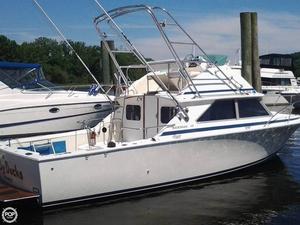 Used Bertram 28 Express Cruiser Boat For Sale