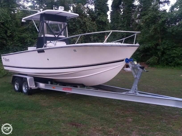 Used Albemarle 242 CC Center Console Fishing Boat For Sale