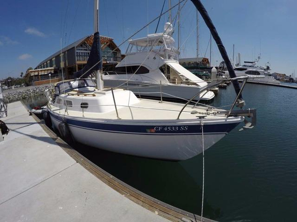 Used Cal 29 Sloop Sailboat For Sale