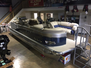 New Avalon Catalina Quad Lounge 25' Pontoon Boat For Sale