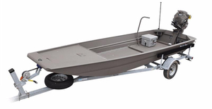 New Gator Tail Extreme Series 48 x 17 Aluminum Fishing Boat For Sale
