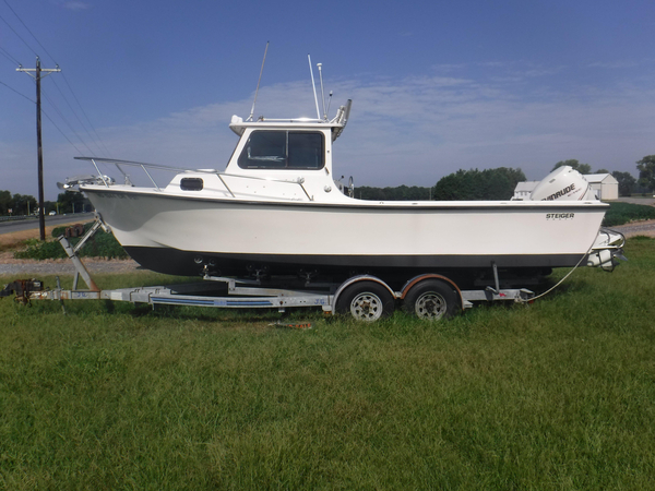 Used Steiger Cuddy Cabin Boat For Sale