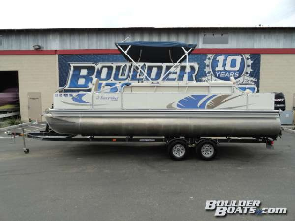 Used Suncruiser SS224 Angler Pontoon Boat For Sale