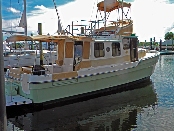 Used Ranger Tug 21 CB Trawler Boat For Sale