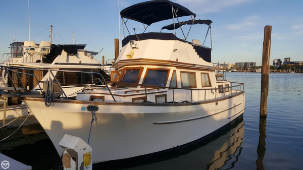 Used Ta Chiao 34 Trawler Boat For Sale