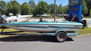 Used Bass Cat 17' MARGAY II Bass Boat For Sale