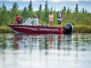 New Tracker Boats Targa V-18 Combo Aluminum Fishing Boat For Sale