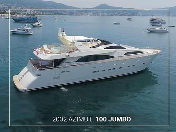 Used Azimut 100 Jumbo Motor Yacht For Sale