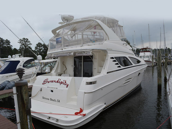 Used Silverton Sport Bridge Motor Yacht For Sale