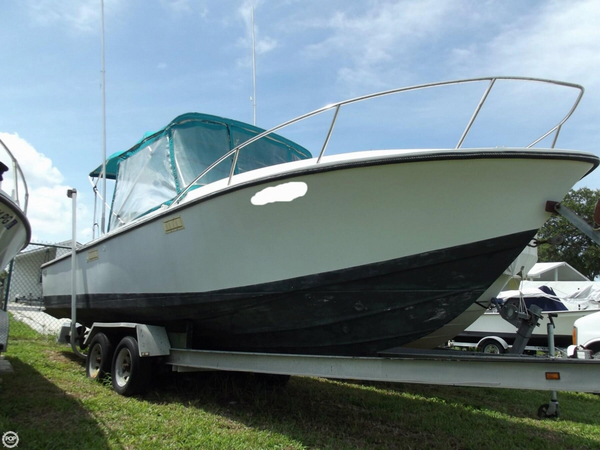 Used Blackfin 25 Center Console Fishing Boat For Sale
