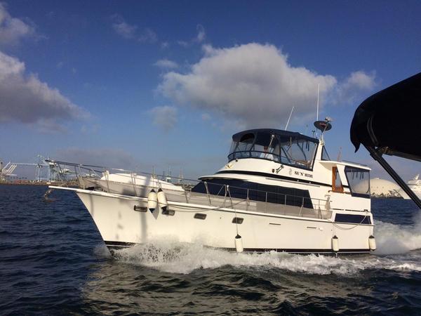 Used Lien Hwa Trawler Sundeck Aft Cabin Boat For Sale