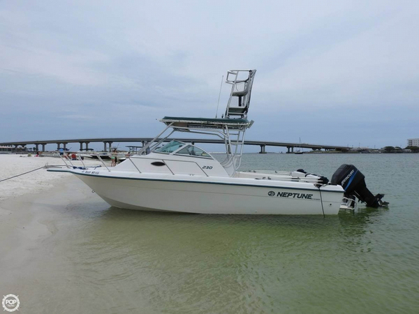Used Sunbird Neptune 230 WA Walkaround Fishing Boat For Sale