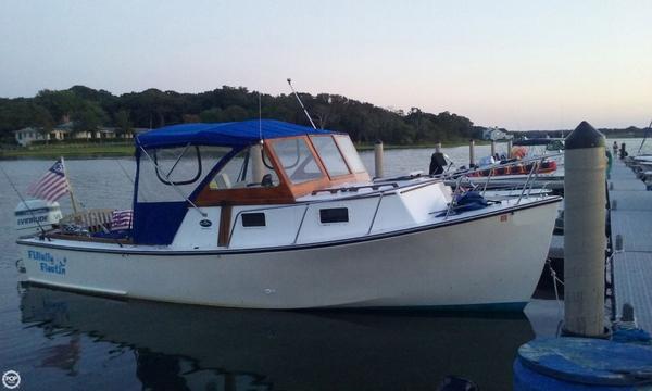 Used Seaway 26 Northstar Downeast Fishing Boat For Sale