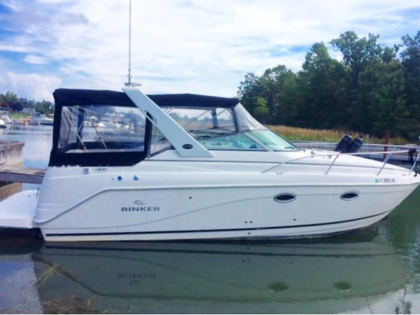 Used Rinker 270 Siesta Vee Cruiser Boat For Sale