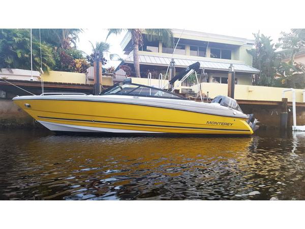 Used Monterey Blackfin Sport Bowrider Boat For Sale
