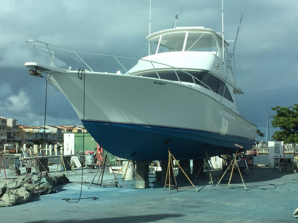 Used Viking Yachts Cuddy Cabin Boat For Sale