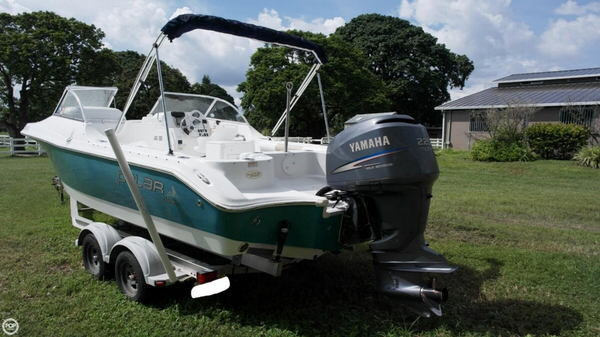 Used Polar 2100 DC Bowrider Boat For Sale