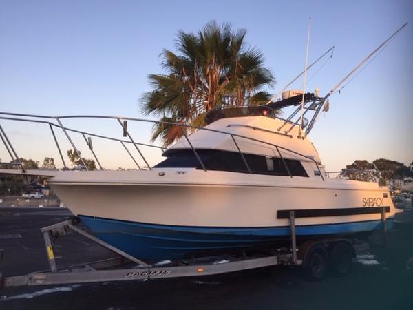 Used Skipjack 262 Flying Bridge Saltwater Fishing Boat For Sale