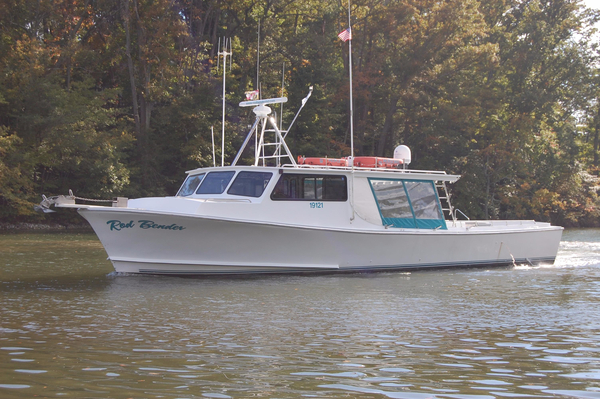 Used Chesapeake Bay Deadrise Thomas Built 50' x 16' Pilothouse Boat For Sale