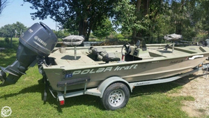 Used Polar Kraft 18 Aluminum Fishing Boat For Sale