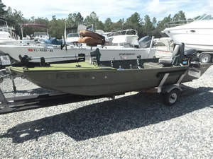 Used Sea Nymph 140 Angler Jon Boat For Sale