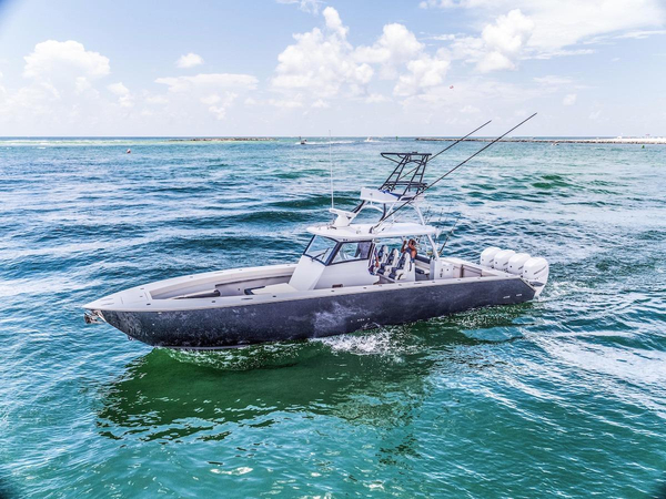 New Metal Shark 42 Fearless Freshwater Fishing Boat For Sale
