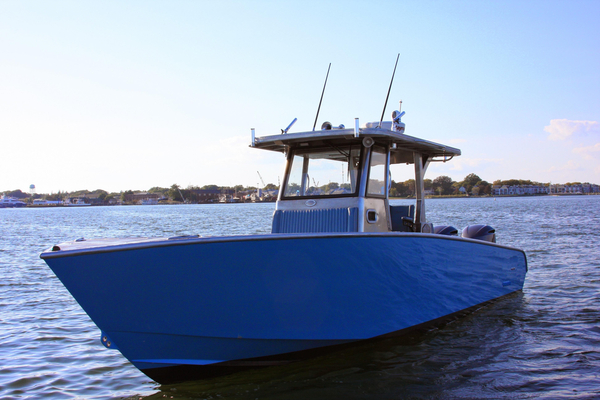 New Metal Shark 32 Fearless Sports Fishing Boat For Sale