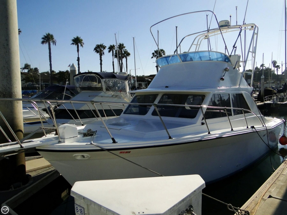 1972 used uniflite 28 sport fisher sports fishing boat for for Sport fishing boats for sale by owner