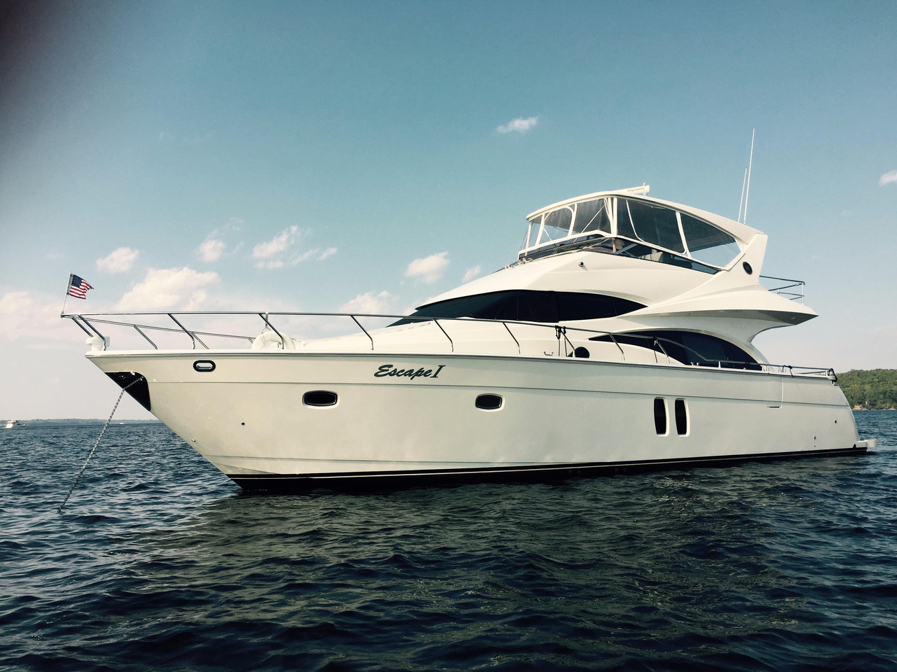 2007 Used Marquis 59 Markham Edition Motor Yacht For Sale