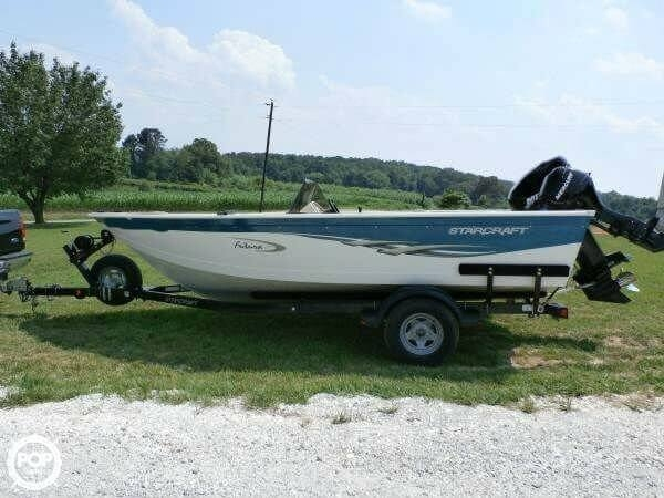 Used Starcraft Futura 180SC Aluminum Fishing Boat For Sale