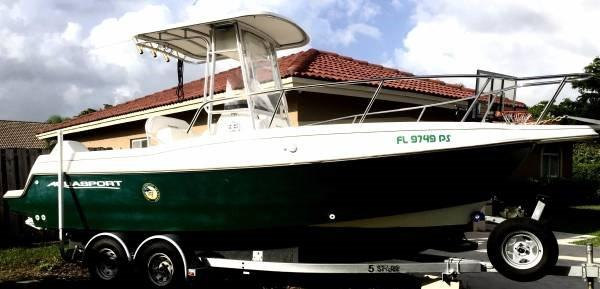 Used Aqua Sport Center Console Fishing Boat For Sale
