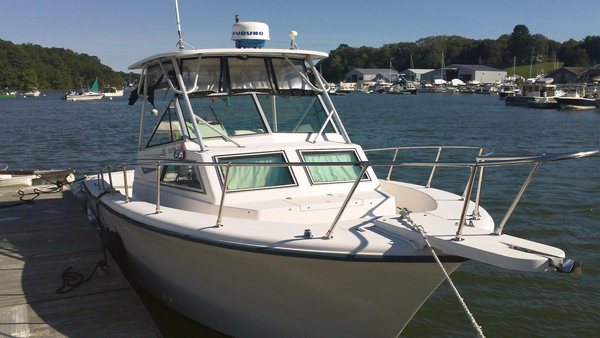 Used Grady White 254 Sailfish Saltwater Fishing Boat For Sale