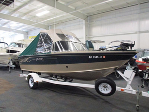 Used Lund 18 Fisherman Ski and Fish Boat For Sale