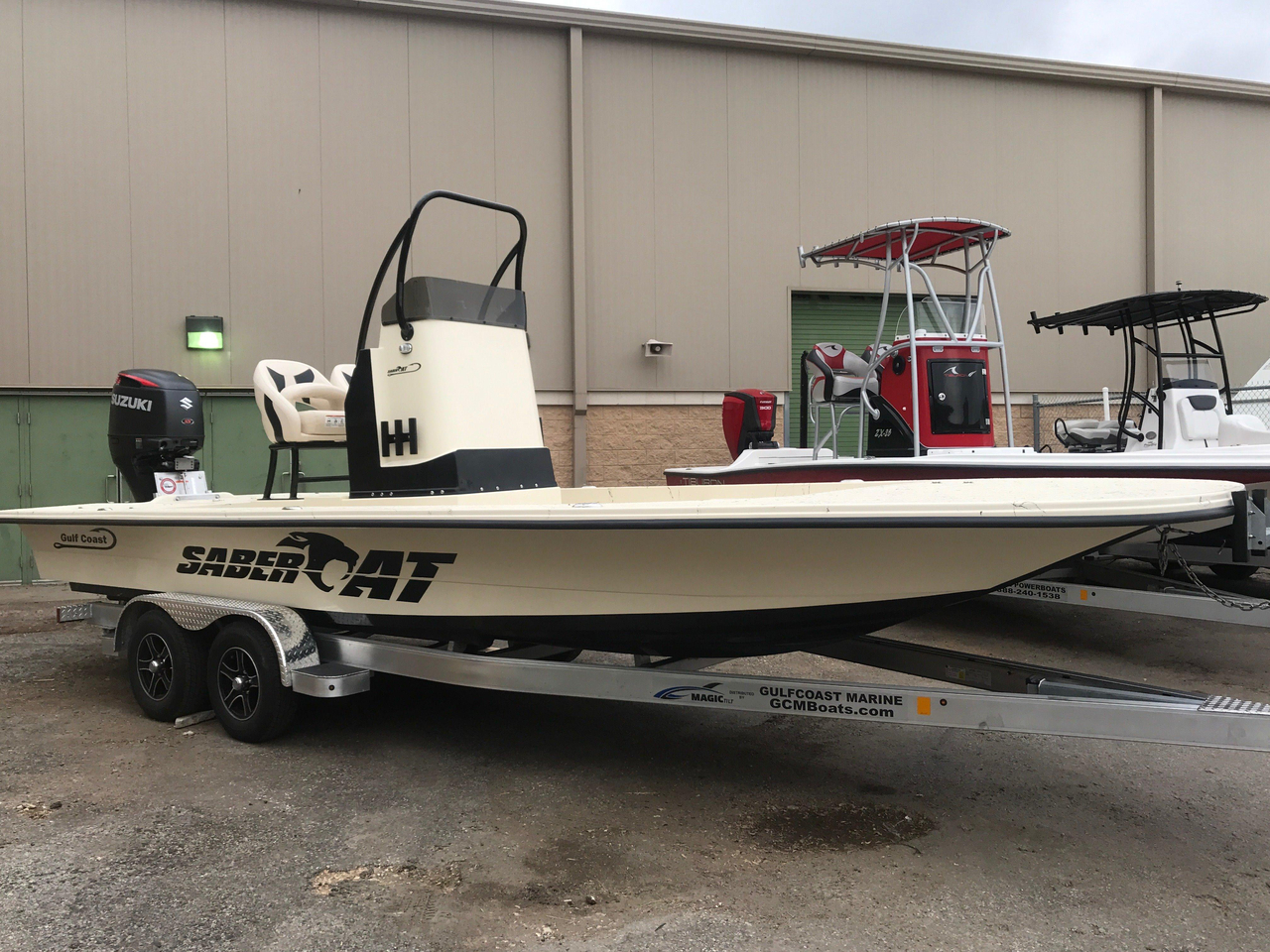 2017 New Gulf Coast Saber Cat Bay Boat For Sale Corpus