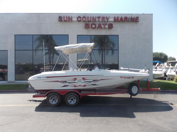 Used Glastron GX 205 Ski & Fish Saltwater Fishing Boat For Sale