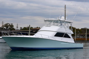 Used Viking Yachts ConvertibleMezzanineBridgeAC Convertible Fishing Boat For Sale