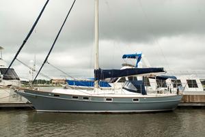 Used Kadey Krogen 38 Cutter Sailboat For Sale