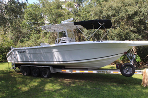 Used Angler 2900 Center Console Saltwater Fishing Boat For Sale