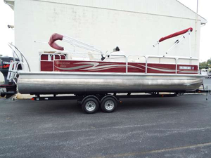 Used Misty Harbor 2585CS Pontoon Boat For Sale