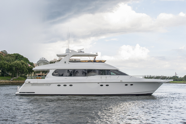 Used Lazzara Grand Salon Edition Motor Yacht For Sale