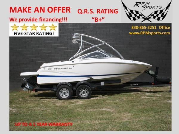 Used Regal 1900 Fastrac Ski and Wakeboard Boat For Sale