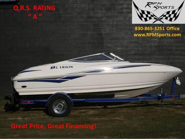 Used Larson Senza 186 Bowrider Boat For Sale