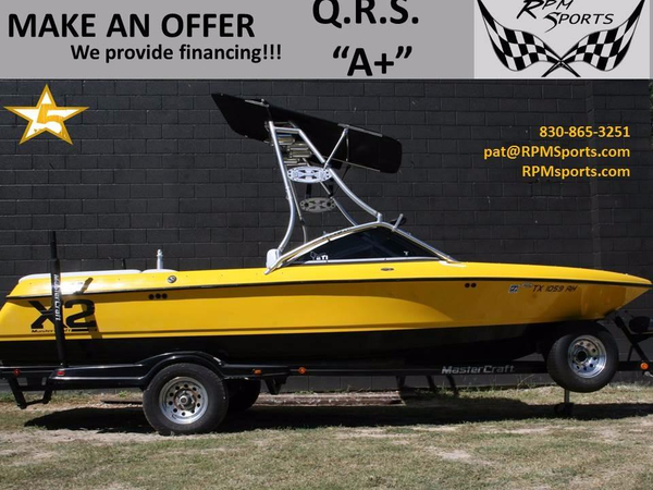 Used Mastercraft X2 Ski and Fish Boat For Sale