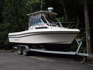 Used Grady Whit 23' Pilothouse Boat For Sale