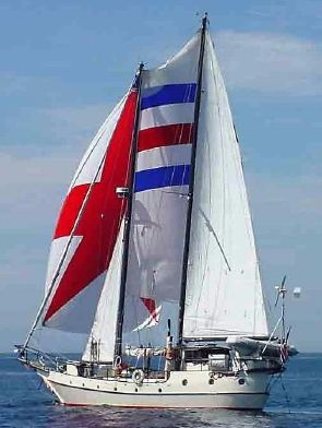 Used Bruce Roberts Custom Built Schooner Cruiser Sailboat For Sale