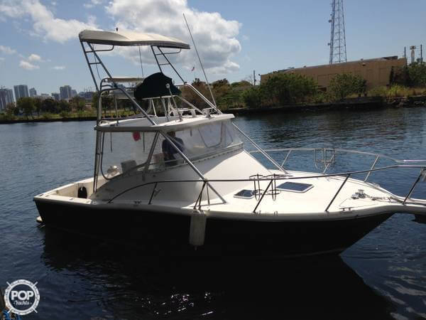 1999 used pursuit 3000 offshore sports fishing boat for for Offshore fishing boats for sale