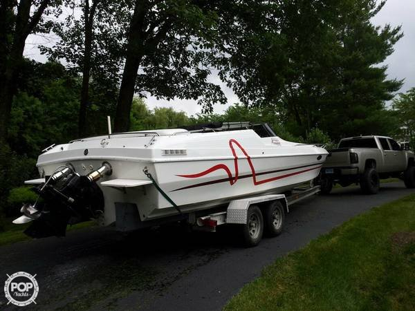 Used Sleekcraft Enforcer TUNNEL HULL 28 High Performance Boat For Sale